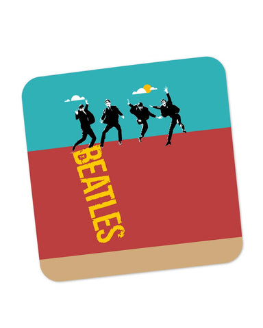 Buy Coasters Online | Beatles In The Sky | Pop Art Coaster Online India | PosterGuy.in