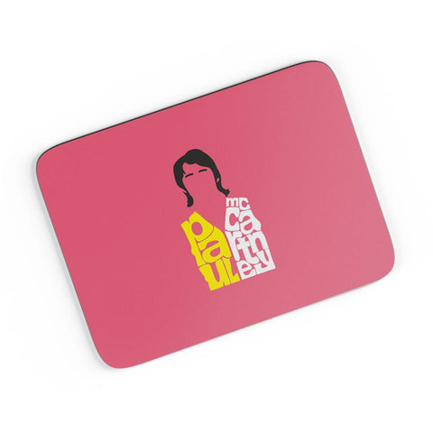 Paul Mccartney Typography | Beatles A4 Mousepad Online India