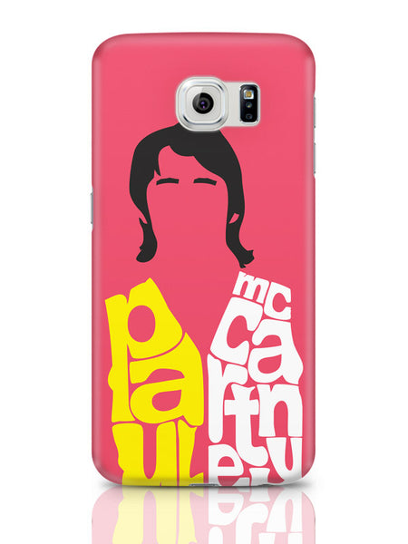 Samsung Galaxy S6 Covers & Cases | Paul Mccartney Typography | Beatles Samsung Galaxy S6 Covers & Cases Online India