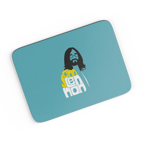John Lennon Typography | Beatles A4 Mousepad Online India