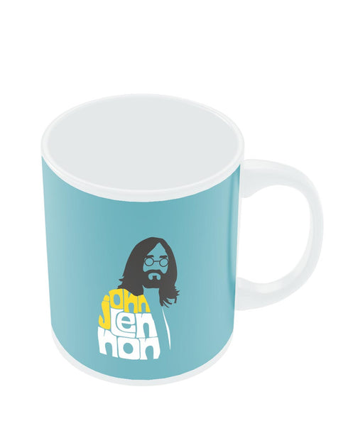 Coffee Mugs Online | John Lennon Typography | Beatles Mug Online India