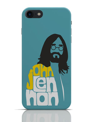 John Lennon Typography | Beatles iPhone 7 Covers Cases Online India