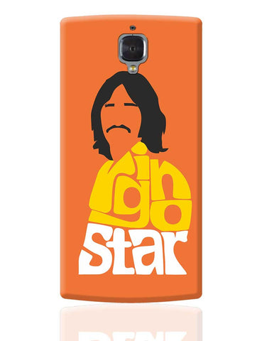 Ringo Star Typography | Beatles OnePlus 3 Cover Online India