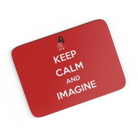Keep Calm and Imagine | John Lennon A4 Mousepad Online India