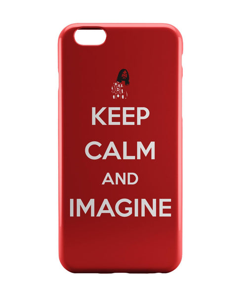 iPhone 6 Case & iPhone 6S Case | Keep Calm and Imagine | John Lennon iPhone 6 | iPhone 6S Case Online India | PosterGuy
