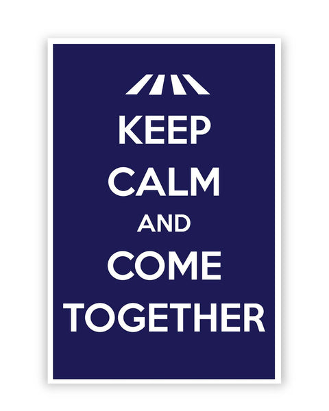 Posters Online | Keep Calm and Come Together | John Lennon Poster Online India | Designed by: Design Walrus