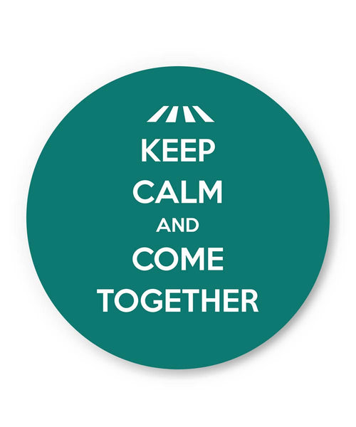 PosterGuy | Keep Calm and Come Together | John Lennon Fridge Magnet Online India by Design Walrus