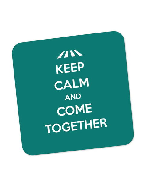 Buy Coasters Online | Keep Calm and Come Together | John Lennon Coaster Online India | PosterGuy.in