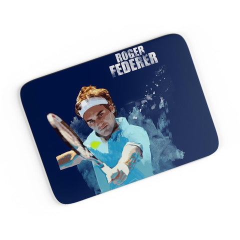 Roger Federer Art Splash  A4 Mousepad Online India