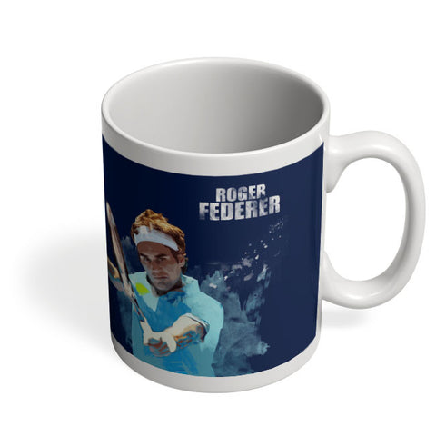 Coffee Mugs Online | Roger Federer Art Splash Mug Online India