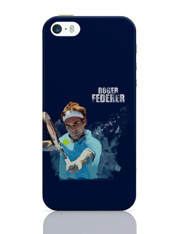 iPhone 5 / 5S Cases & Covers | Roger Federer Art Splash iPhone 5 / 5S Case Online India
