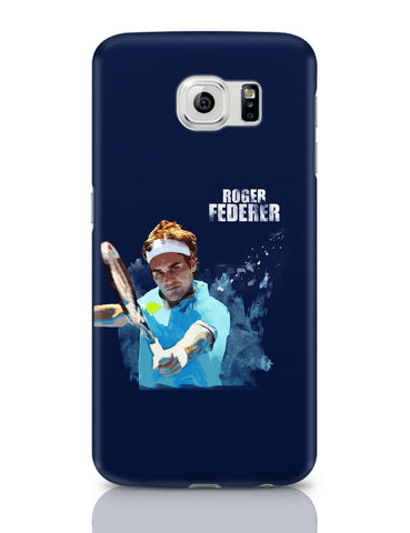 Samsung Galaxy S6 Covers | Roger Federer Art Splash Samsung Galaxy S6 Covers Online India