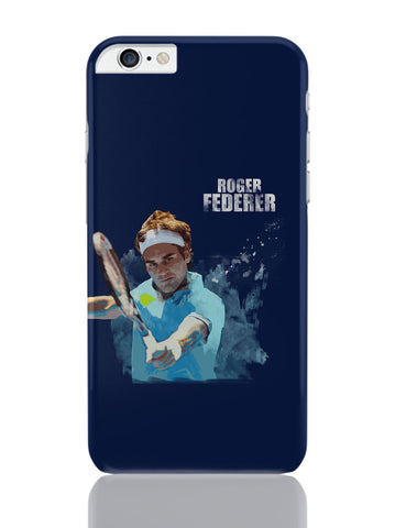 iPhone 6 Plus/iPhone 6S Plus Covers | Roger Federer Art Splash iPhone 6 Plus / 6S Plus Covers Online India