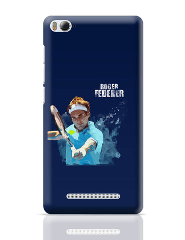 Xiaomi Mi 4i Covers | Roger Federer Art Splash Xiaomi Mi 4i Cover Online India