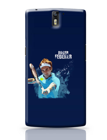 OnePlus One Covers | Roger Federer Art Splash OnePlus One Cover Online India