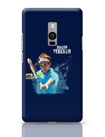OnePlus Two Covers | Roger Federer Art Splash OnePlus Two Cover Online India