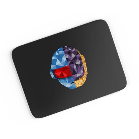 Daft Punk Poly Art Illustration A4 Mousepad Online India