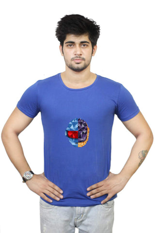 Buy Funny T-Shirts Online India | Daft Punk Poly Art T-Shirt Funky, Cool, T-Shirts | PosterGuy.in