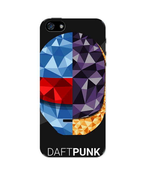 iPhone 5 / 5S Cases & Covers | Daft Punk Poly Art Illustration iPhone 5 / 5S Case Online India