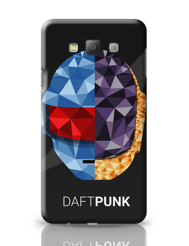 Samsung Galaxy A7 Covers | Daft Punk Poly Art Illustration Samsung Galaxy A7 Covers Online India