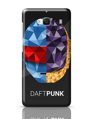 Xiaomi Redmi 2 / Redmi 2 Prime Cover| Daft Punk Poly Art Illustration Redmi 2 / Redmi 2 Prime Cover Online India