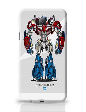 Samsung Galaxy A7 Covers | Optimus Prime | Transformers Inspired Fan Art Samsung Galaxy A7 Covers Online India
