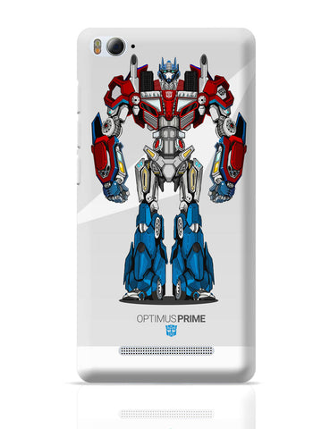 Xiaomi Mi 4i Covers | Optimus Prime | Transformers Inspired Fan Art Xiaomi Mi 4i Cover Online India