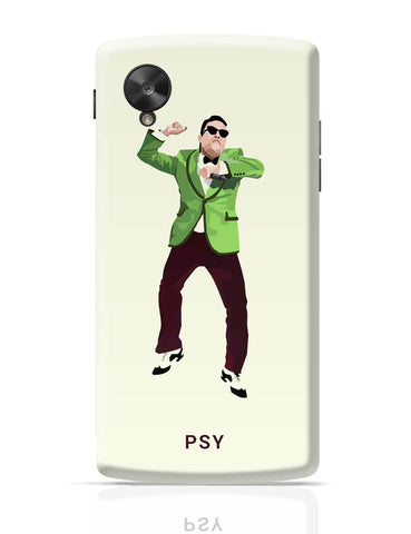 Google Nexus 5 Covers | Psy | Gangnam Style Graphic Illustration Google Nexus 5 Cover Online India