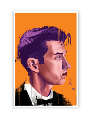 Posters Online | Alex Turner Artic Monkeys Pop Art Poster Online India | Designed by: Jayman Artworks