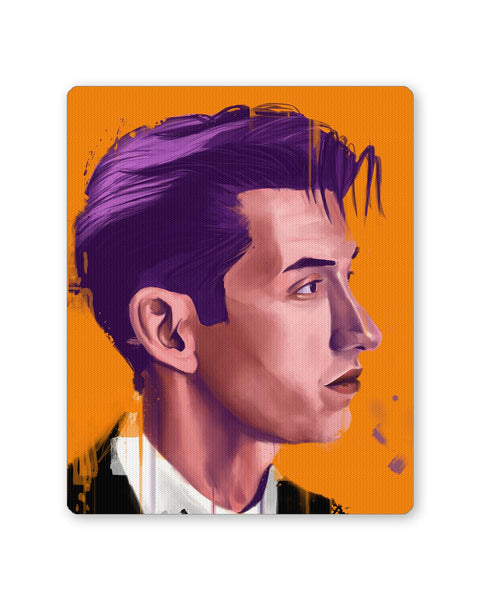 Buy Mousepads Online India | Alex Turner Artic Monkeys Pop Art Mouse Pad Online India