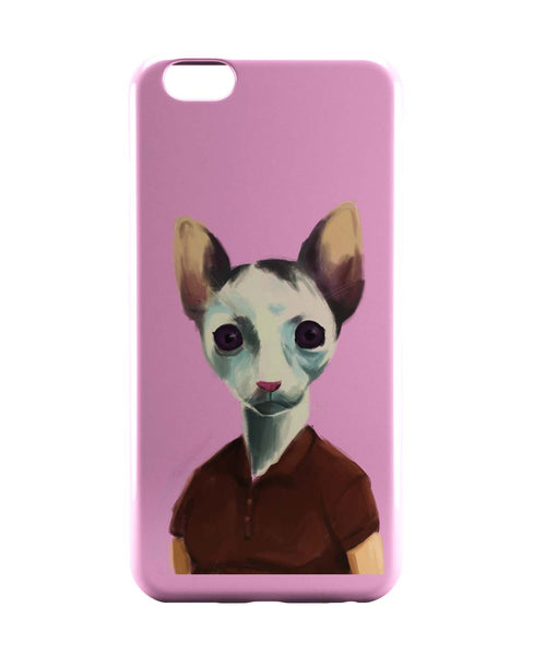 iPhone 6 Case & iPhone 6S Case | Cat Lady Art Illustration iPhone 6 | iPhone 6S Case Online India | PosterGuy