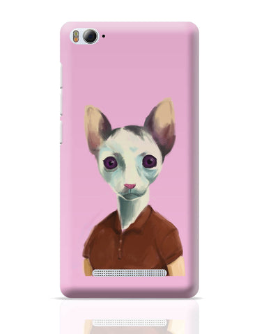 Xiaomi Mi 4i Covers | Cat Lady Art Illustration Xiaomi Mi 4i Cover Online India