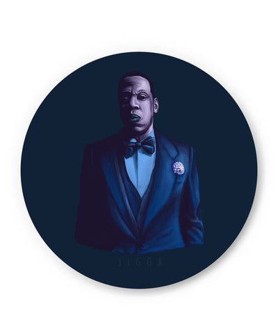 PosterGuy | Jay- Z Purple Shade Fridge Magnet Online India by Jayman Artworks