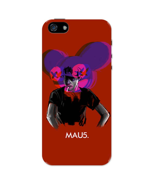 iPhone 5 / 5S Cases & Covers | Dead Mau5 (Mouse) iPhone 5 / 5S Case Online India