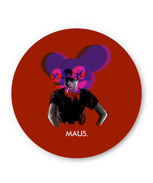PosterGuy | Dead Mau5 (Mouse) Fridge Magnet Online India by Jayman Artworks
