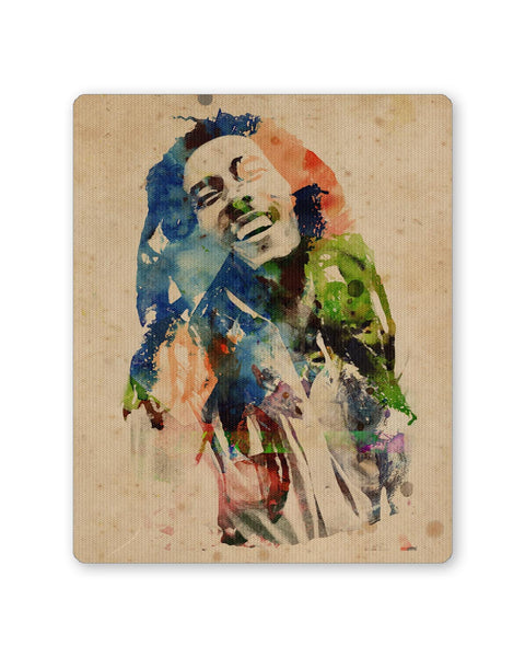 Buy Mousepads Online India | Bob Marley Digital Art Mouse Pad Online India