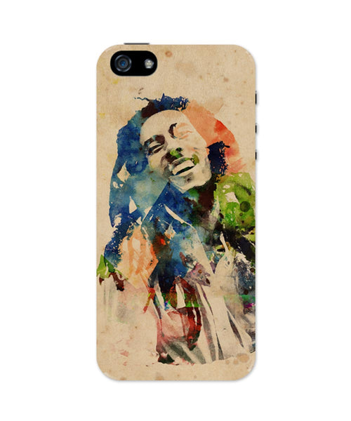 iPhone 5 / 5S Cases & Covers | Bob Marley Digital Art iPhone 5 / 5S Case Online India