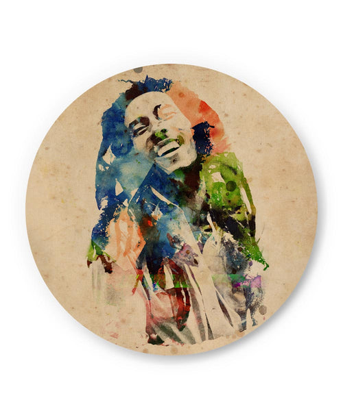 PosterGuy | Bob Marley Digital Art Fridge Magnet Online India by Hitesh Sharma