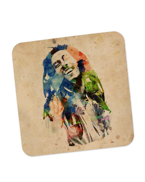 Buy Coasters Online | Bob Marley Digital Art Coaster Online India | PosterGuy.in