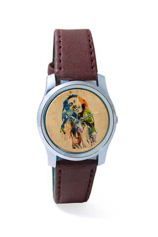 Women Wrist Watch India | Bob Marley Digital Art Wrist Watch Online India
