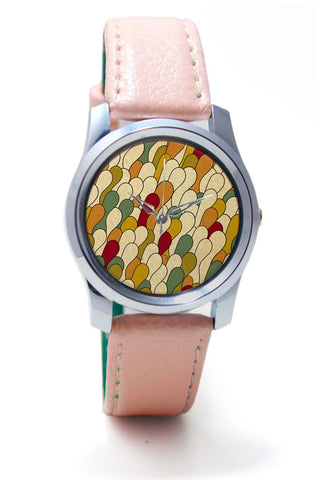 Women Wrist Watches India | Colorful Abstracxt Patterns Wrist Watch Online India