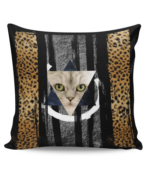PosterGuy | Cat in Trance Prism Cushion Cover Online India
