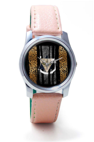 Women Wrist Watches India | Cat in Trance Prism Wrist Watch Online India