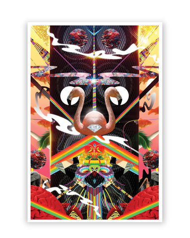 Posters Online | The World of Psychedelic Stuff Poster Online India | Designed by: Hitesh Sharma