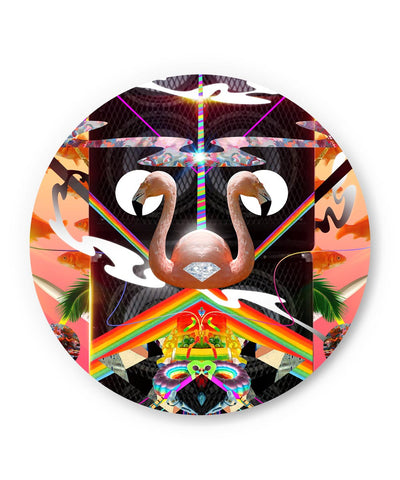PosterGuy | The World of Psychedelic Stuff Fridge Magnet Online India by Hitesh Sharma