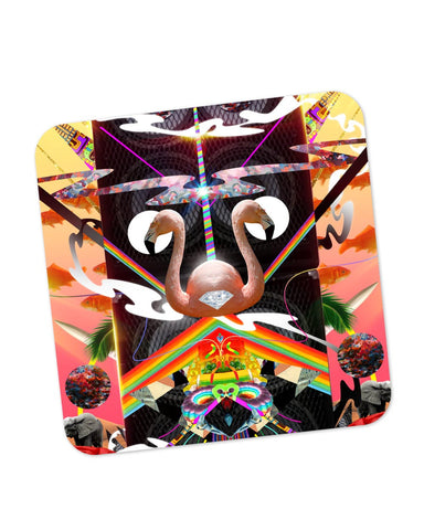 Buy Coasters Online | The World of Psychedelic Stuff Coaster Online India | PosterGuy.in