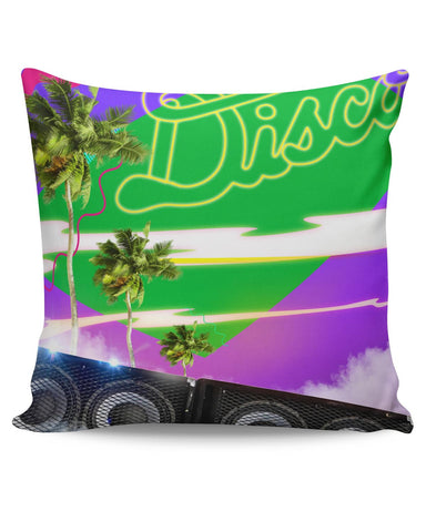 PosterGuy | The Abstract Vacation Disco Cushion Cover Online India