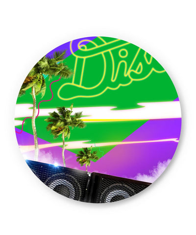 PosterGuy | The Abstract Vacation Disco Fridge Magnet Online India by Hitesh Sharma