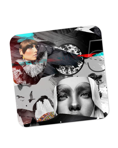 Buy Coasters Online | The Eye of The Lady Concept Art Coaster Online India | PosterGuy.in