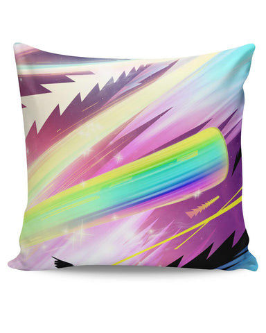 PosterGuy | Rainbow Rider Abstract Cushion Cover Online India